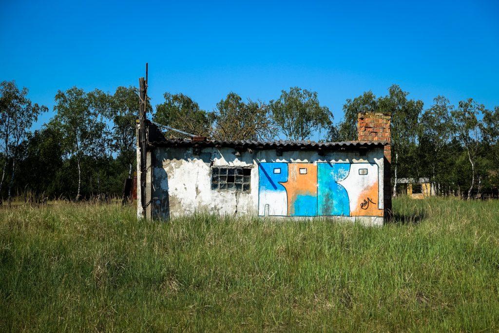 urbex graffiti - robo - ghostcity vogelsang