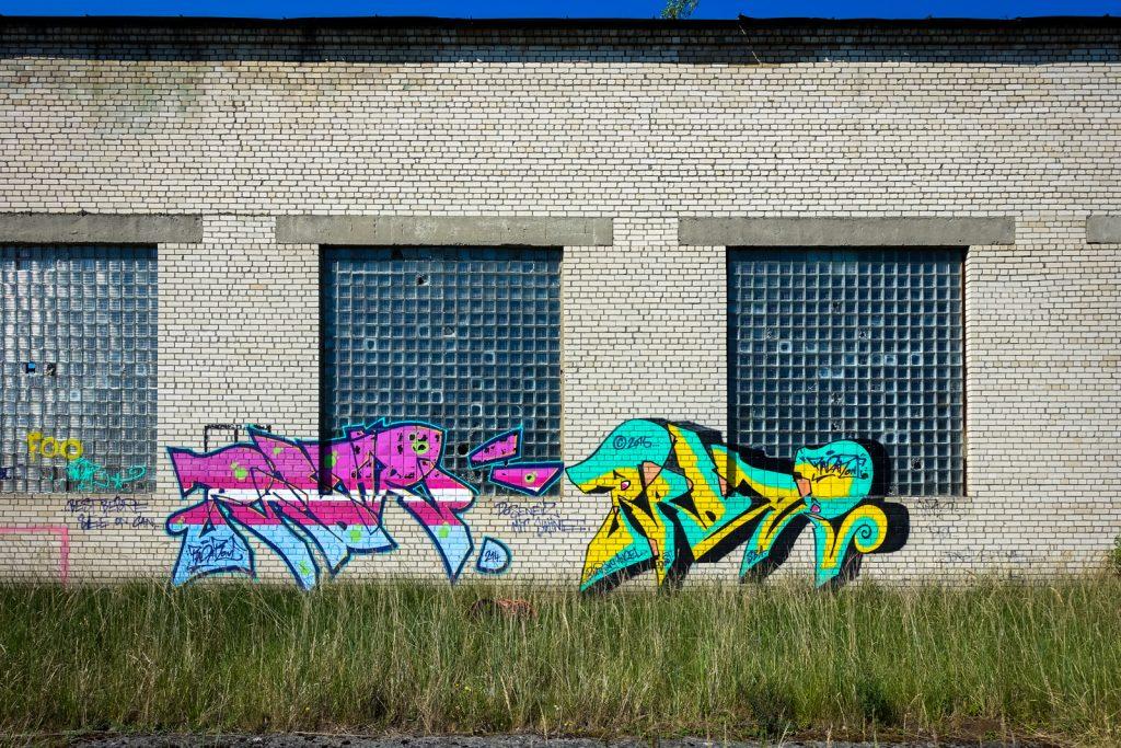 urbex graffiti - ghostcity vogelsang