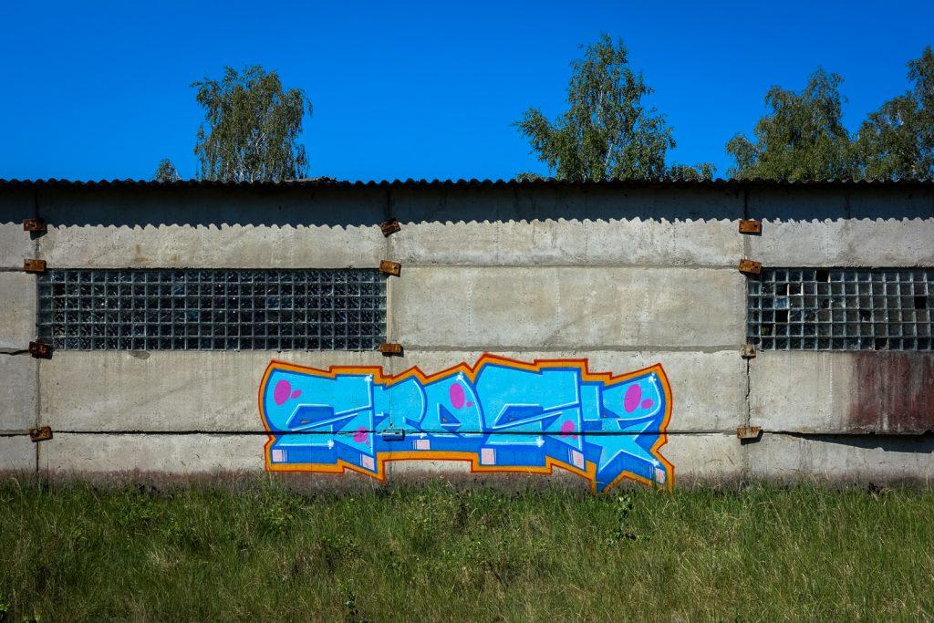 urbex graffiti - stasy - ghostcity vogelsang