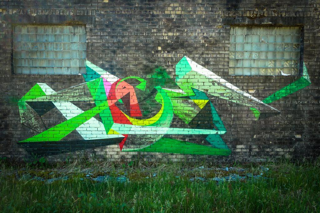 urbex art - kase - ghostcity vogelsang
