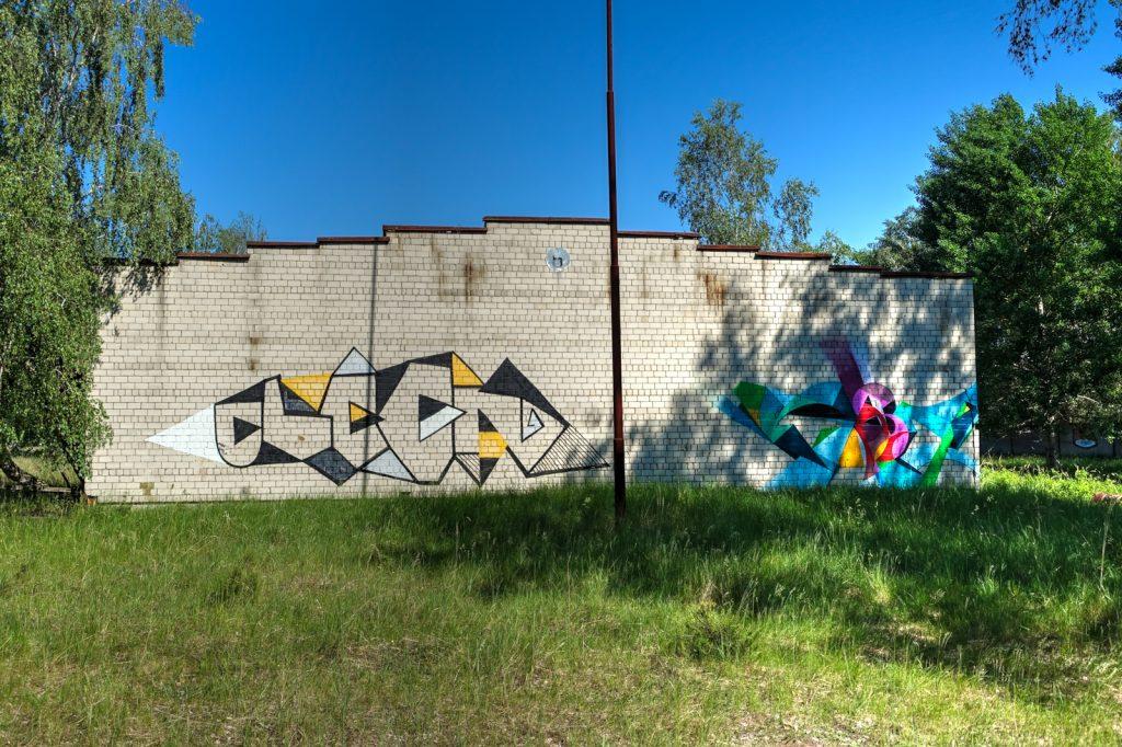 urbex art - kase & ?? - ghostcity vogelsang