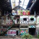 urbexgraffiti - zeus, bash - deutz ag industrieruine, köln mül
