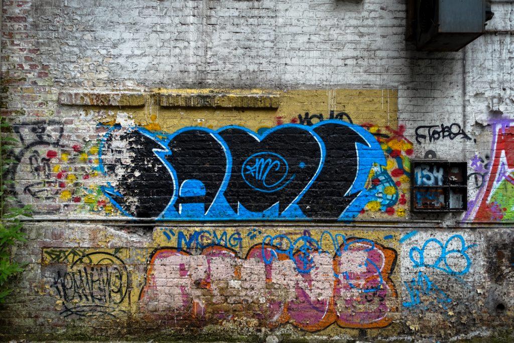 urbexgraffiti - same - deutz ag industrieruine, köln mülheim