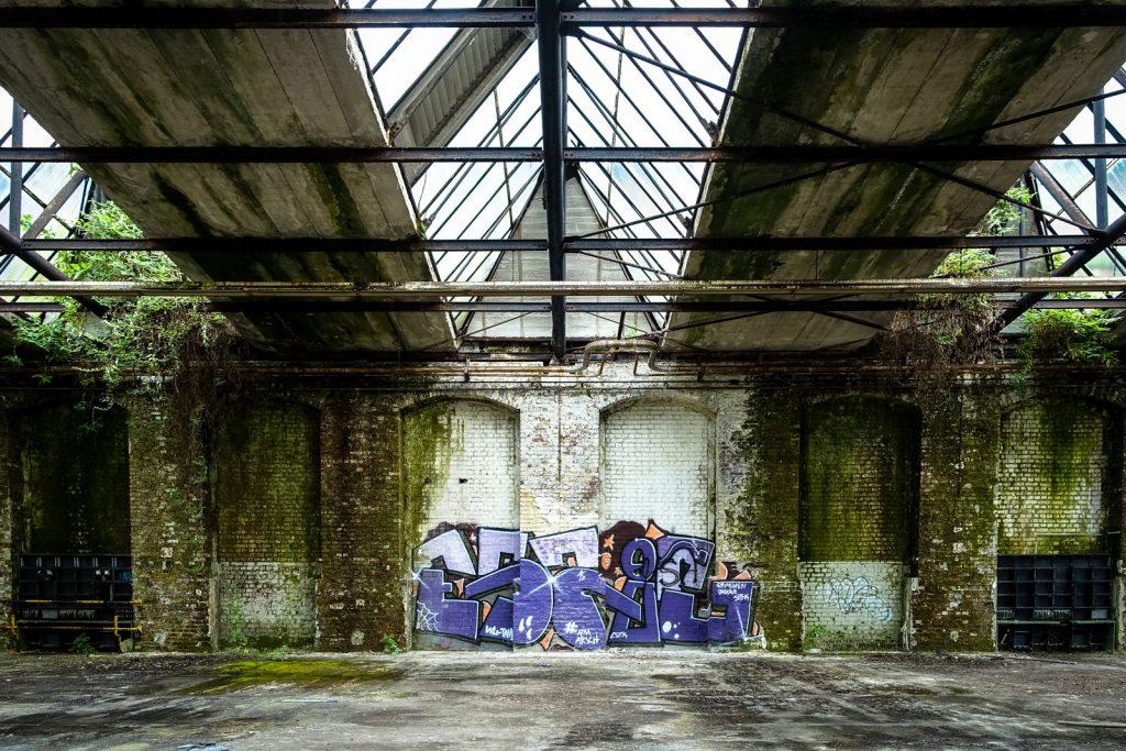 urbexgraffiti - eszik - khd fabrik, köln-mülheim