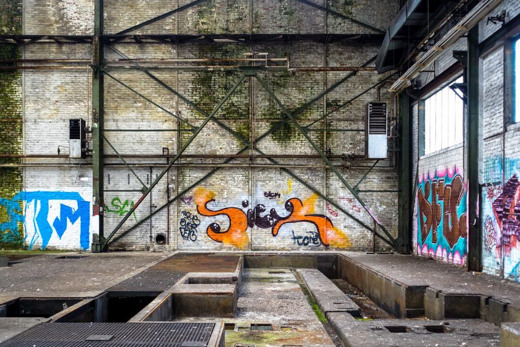 urbexgraffiti - sick - khd fabrik, köln-mülheim