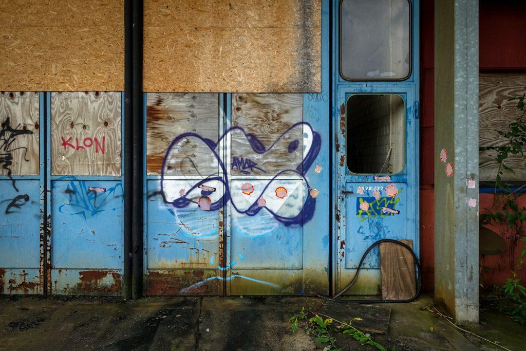 urbexgraffiti - amor - khd fabrik, köln-mülheim