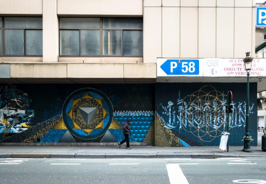 le m.u.r brussels – open air graffiti museum