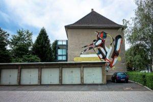 mural, cityleaks 2011 - amose - köln