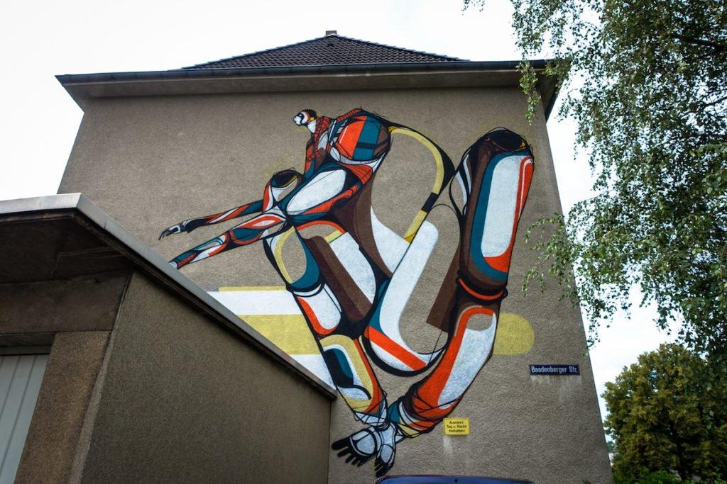 mural, cityleaks - amose - köln
