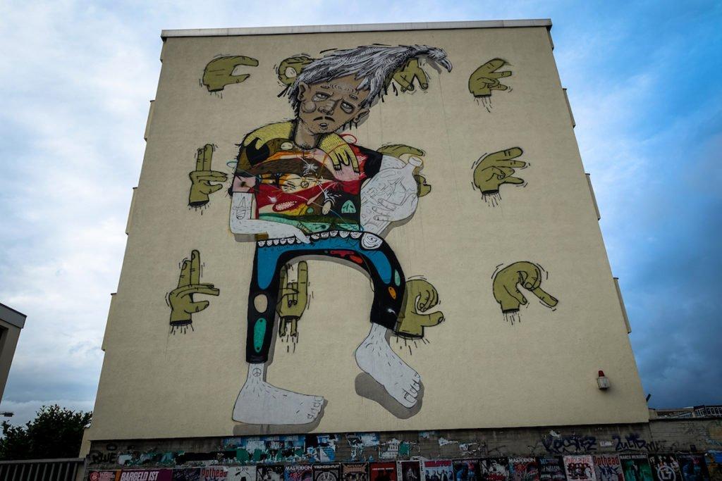 mural, cityleaks 2011 - morbit und die ctp youth - köln, ehrenfeld
