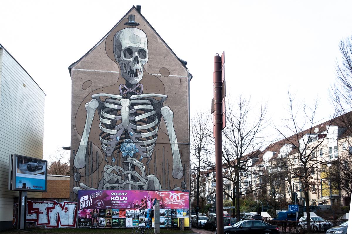 mural, cityleaks 2013 – aryz – köln