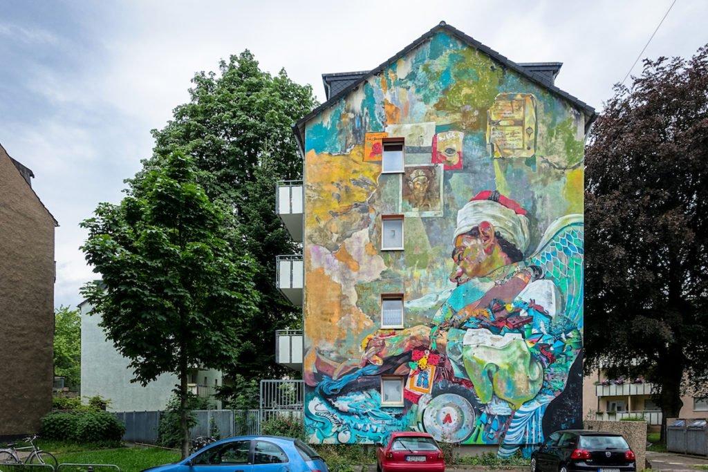 mural, cityleaks 2015 - ammar abo bakar  - köln, ehrenfeld