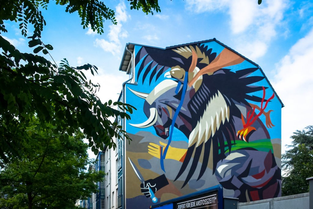 mural, cityleaks 2015 - franco fasoli (jaz) - köln, mülheim