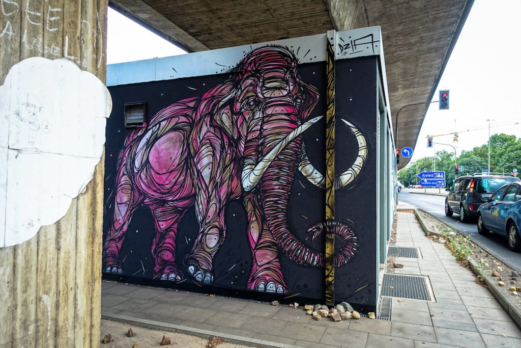 mural, cityleaks 2015 - dzia - köln, ehrenfeld