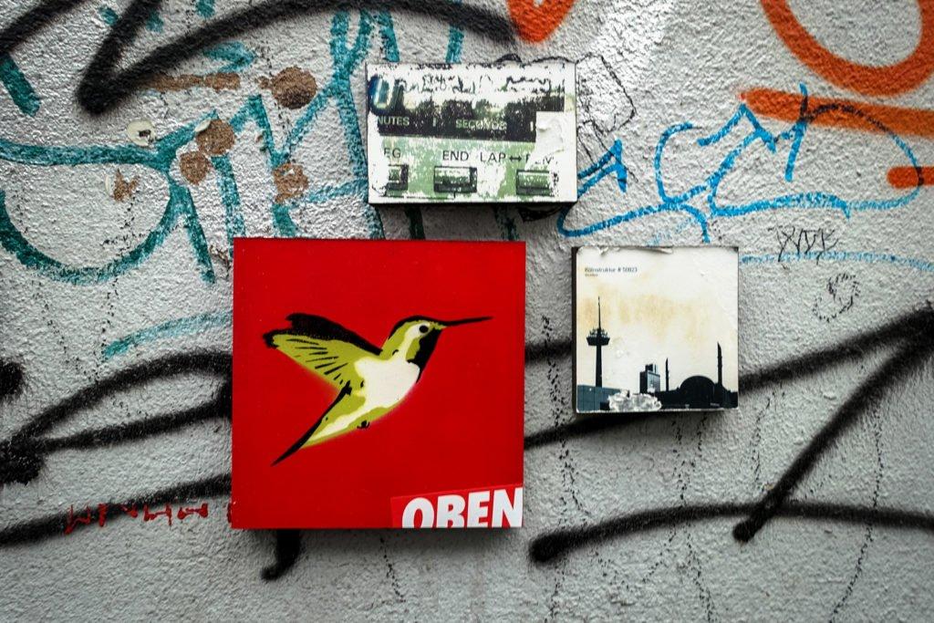 streetart - oben - köln