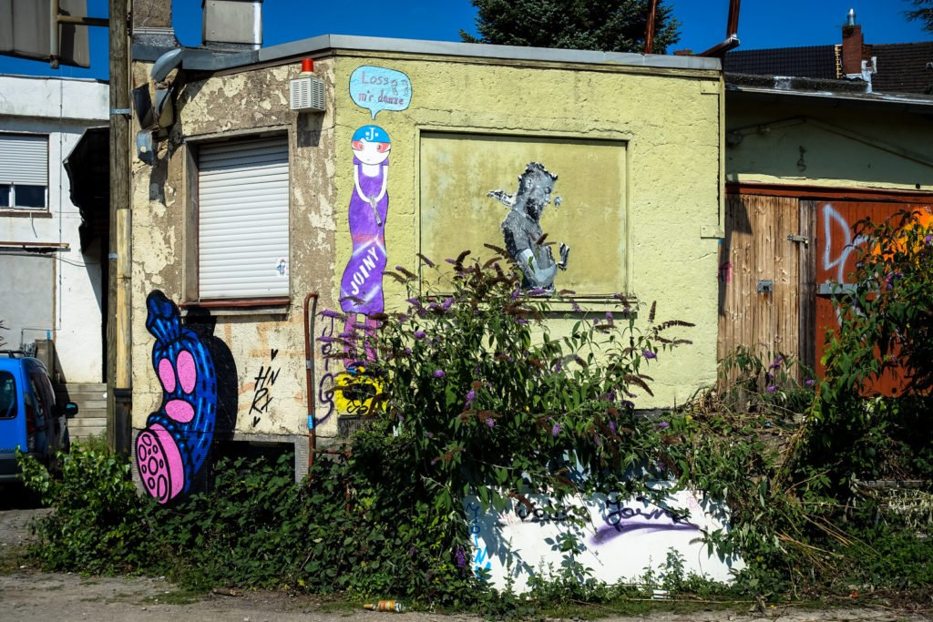 streetart - hrnrx, joiny - köln, ehrenfeld