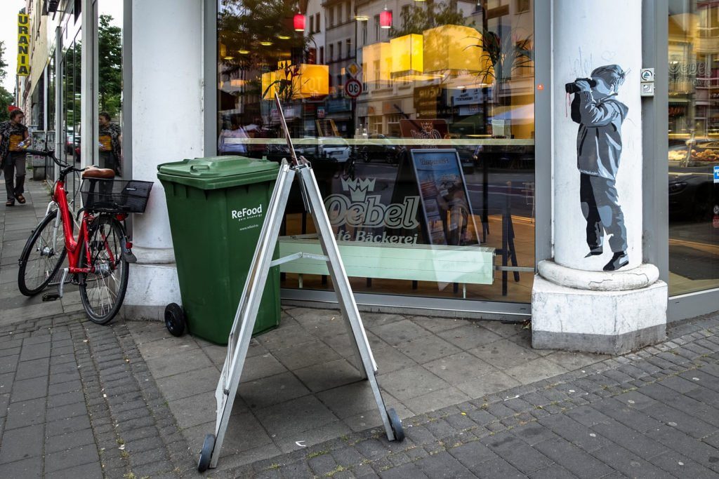 paste up - kurznachzehn - köln, ehrenfeld