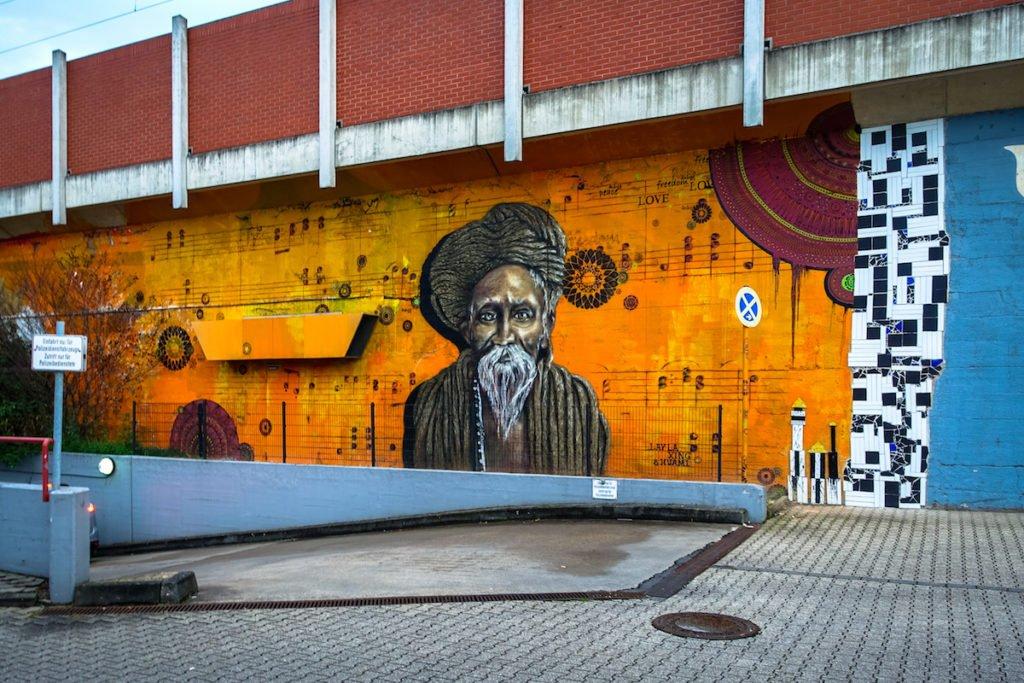 mural - lay la xing & huami - köln, ehrenfeld