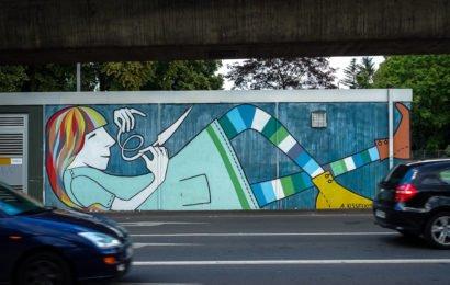 auf den spuren nach wandmalerei im streetart-veedel: köln-ehrenfeld