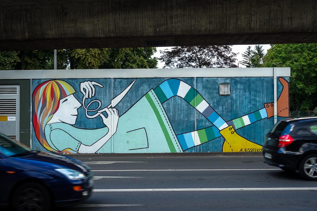 mural - a
