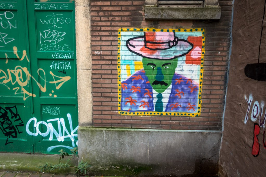 streetart - around mima, brussels