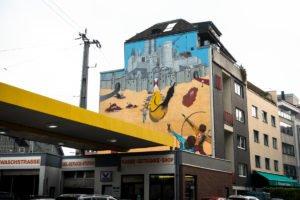 mural, cityleaks 2011 - captain borderline/ thomas baumgärtel -