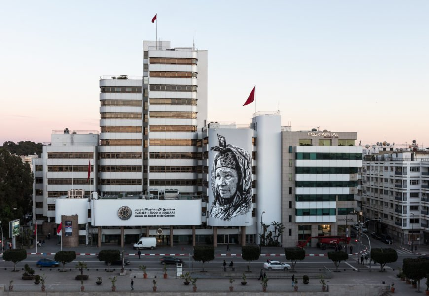 hendrik beikirch mural in rabat