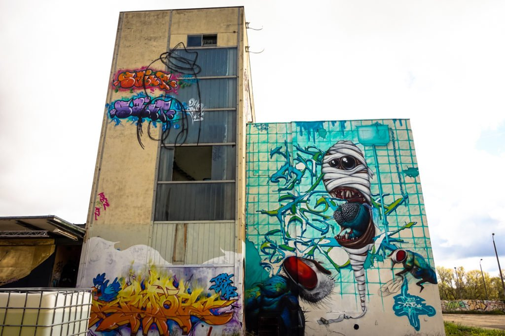 graffiti - mone, zwerg & searok - aerosol-arena, magdeburg