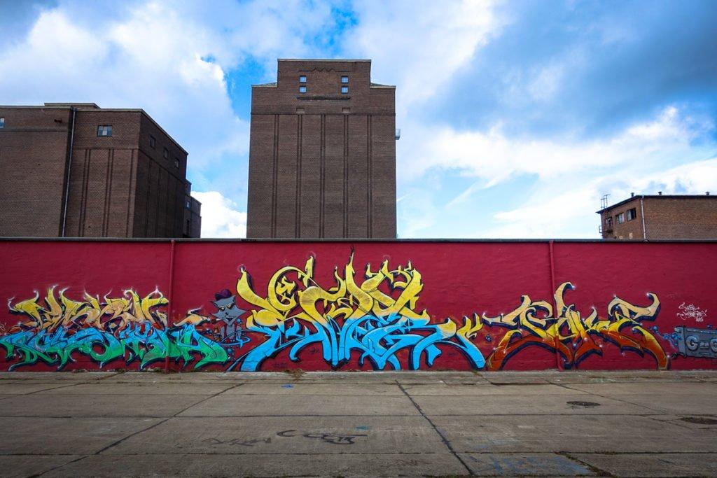 graffiti - the raccoons - aerosol-arena, magdeburg