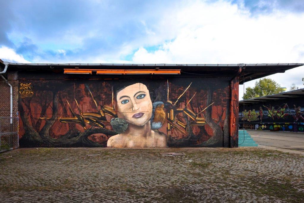 graffiti - droid, b2w, mbrio - aerosol-arena, magdeburg