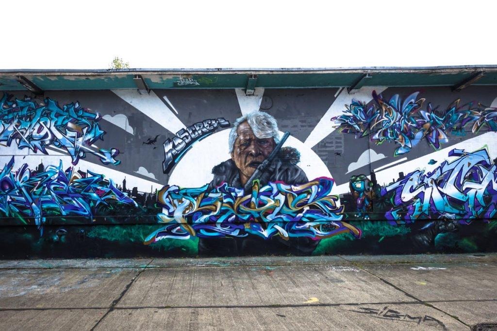 graffiti - kds crew - aerosol-arena, magdeburg