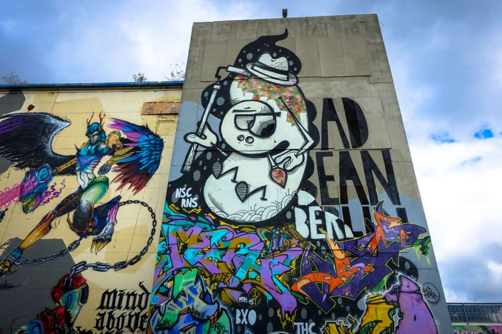 graffiti - kobe eins - aerosol-arena, magdeburg
