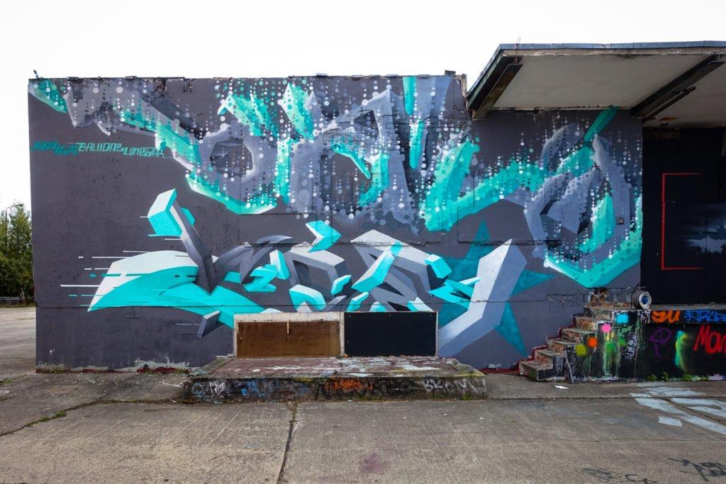 graffiti - Balu Rzm Igm - aerosol-arena, magdeburg