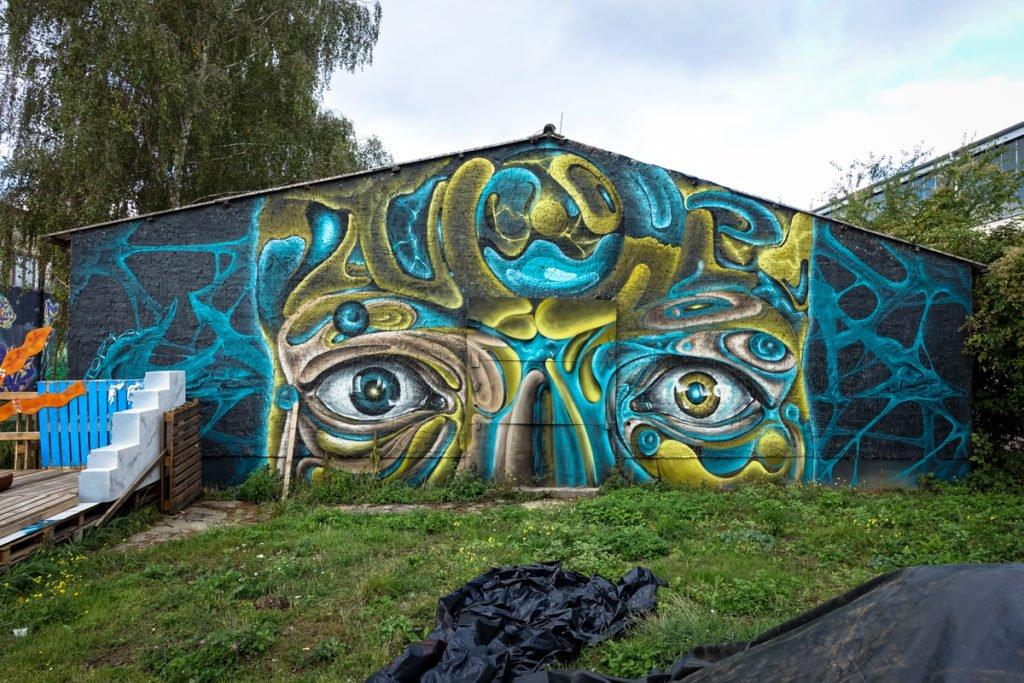 graffiti - utopiart - aerosol-arena, magdeburg