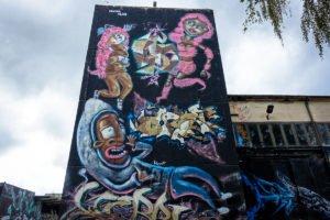 graffiti - manta clan - aerosol-arena, magdeburg