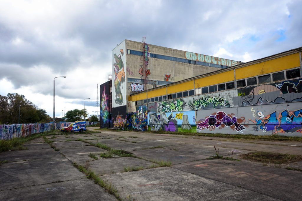 graffiti - aerosol-arena, magdeburg