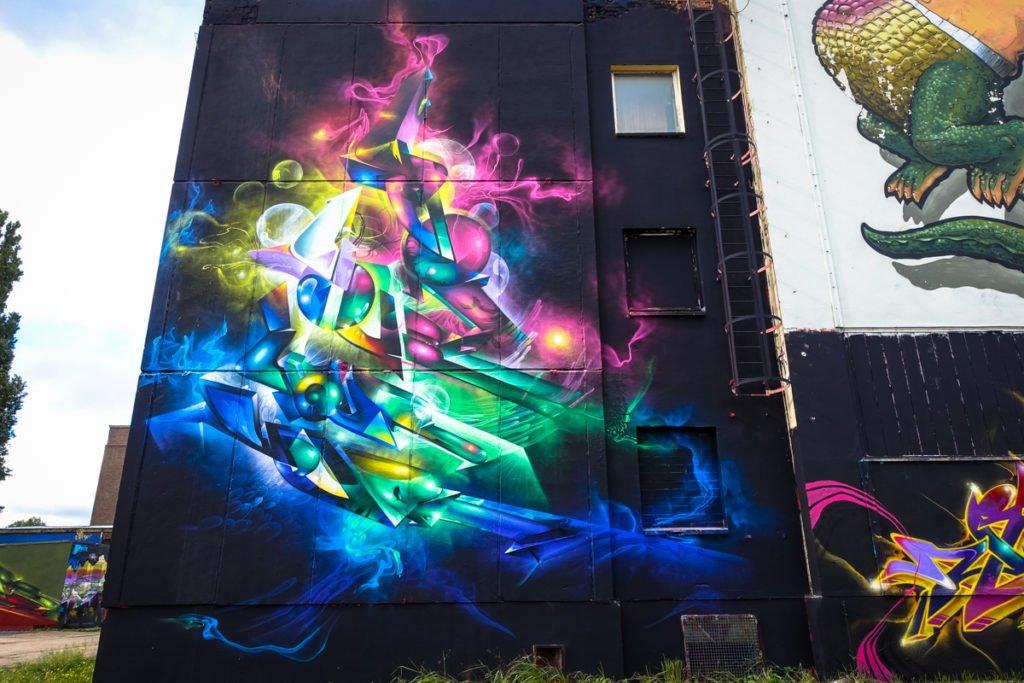 graffiti - your86 & steven stifler -  aerosol-arena, magdeburg
