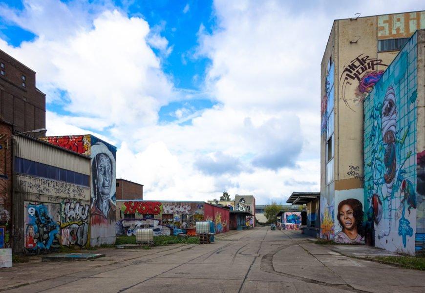 aerosol-arena: die graffiti-hochburg in magdeburg