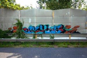 graffiti - texas - rheinbrücke leverkusen