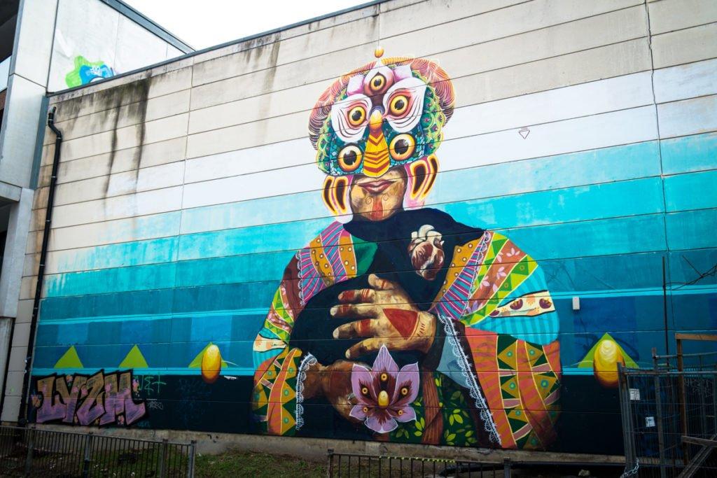 mural - brussels