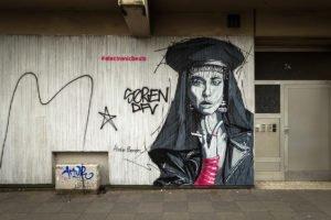 electronicbeats mural - martin bender - heinz gaul, köln-ehrenfeld