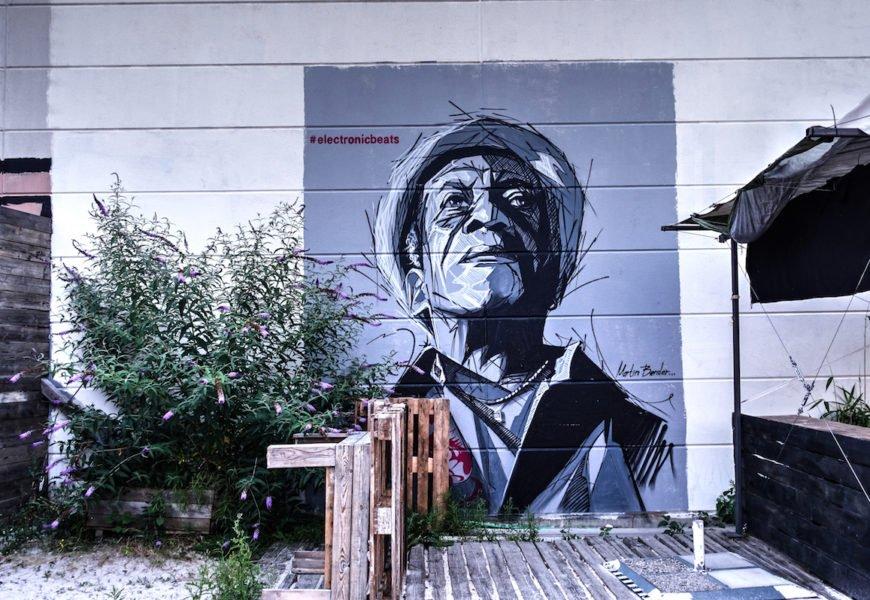 martin bender murals für electronicbeats festival, köln