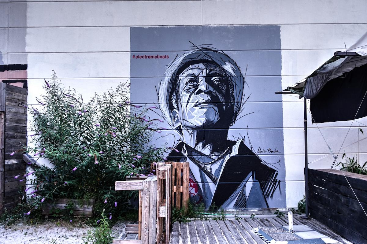 mural for electronicbeats - martin bender - heinz gaul, köln-ehrenfeld