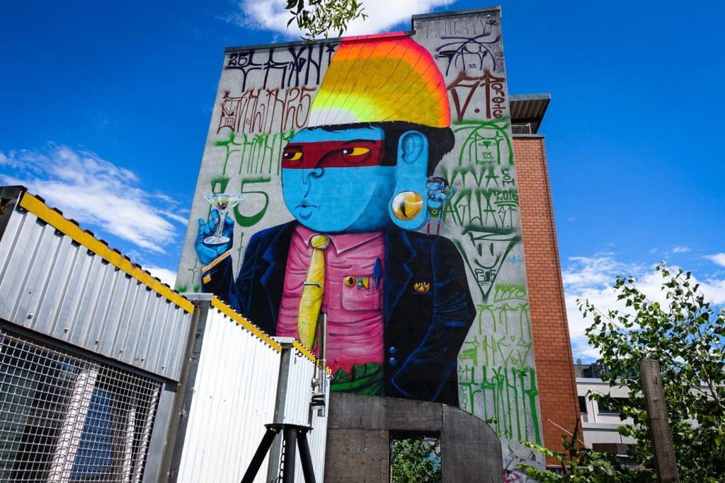 mural - cranio - berlin, friedrichshein