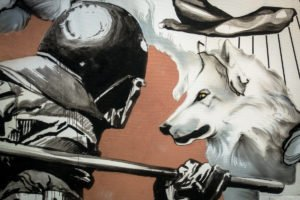 the haus - berlin art bang - holywow & klebebande