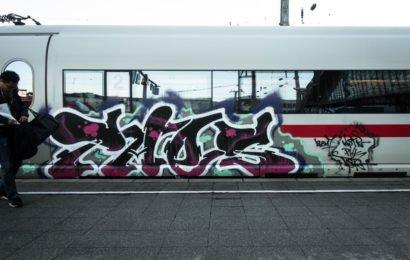 ice trainbombing – köln hbf