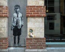 marollen-viertel in brüssel: streetart & galerien
