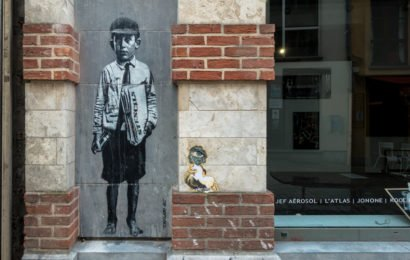 marollen-neighbourhood in brussels: street art & galleries