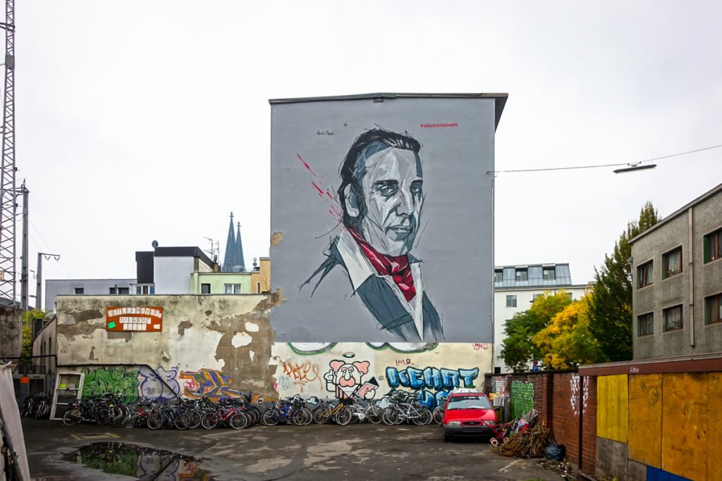 "mural ""chilly gonzales"" - martin bender - electronicbeats, köln"