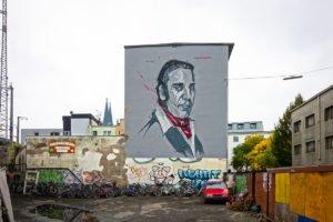 "mural ""chilly gonzales"" - martin bender - electronicbeats, köln"